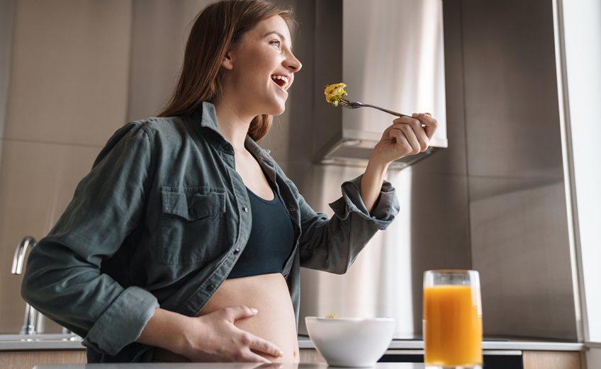 4 alimentos para un embarazo saludable - Aserrín Aserrán