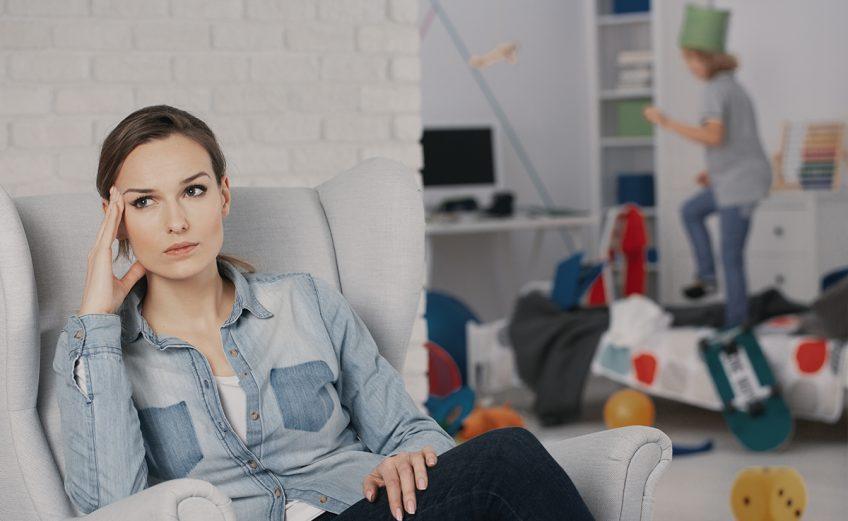 ¿Es normal sentir culpa de ser mamá?