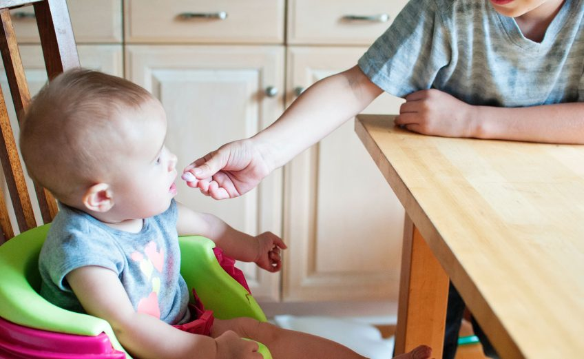 Bebé alimentación